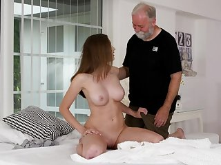 Stacy Cruz - Cutie enjoys a solo pussy rubdown